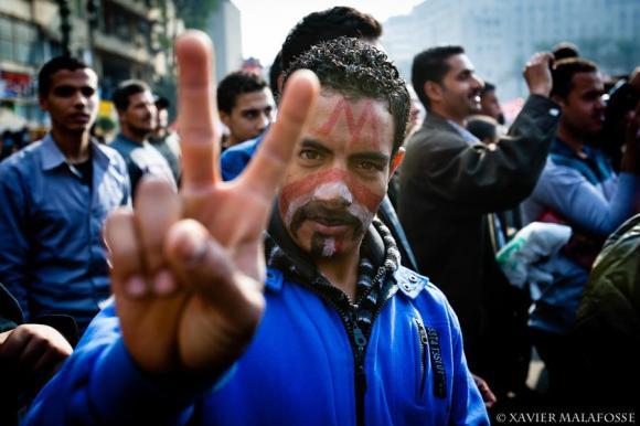 Place Tahrir, au Caire, le 26 novembre 2011.
