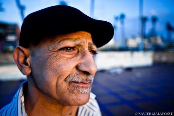 Sur la corniche de Casablanca, octobre 2011.