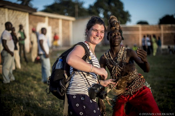 Camille Lepage, en Centrafrique.