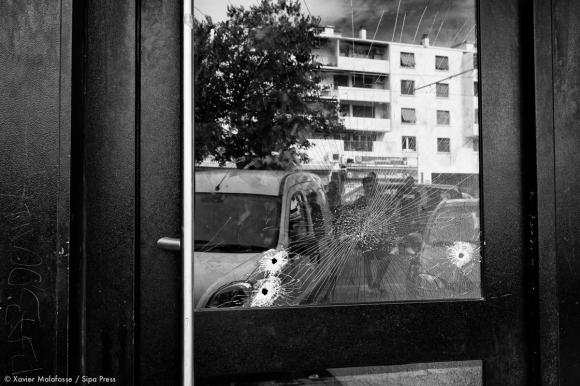 L'immeuble à proximité duquel deux jeunes hommes ont trouvé la mort samedi 23 août, à Montpellier.